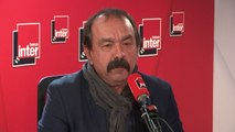 """Philippe Martinez : """"Nous considérons qu'il faut manifester pas seulement le samedi mais aussi en semaine"""""""