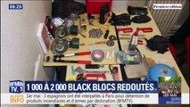 Bonbonnes de gaz, couteaux, marteaux... ce qui a été saisi auprès de trois Espagnols interpellés à Paris