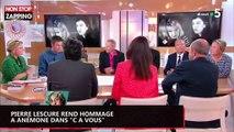"""Pierre Lescure rend hommage à Anémone dans """"C à vous"""" (vidéo)"""