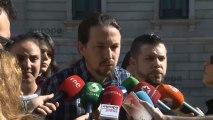 """Iglesias dice que quiere """"ser Gobierno"""" para respetar los derechos de los trabajadores"""""""