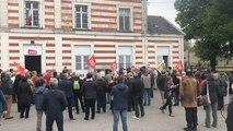 Pour le 1er mai, la CGT réunit 130 personnes à la gare
