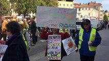 Manifestation du 1er-Mai à Bourg-en-Bresse