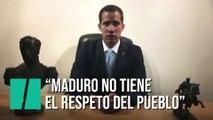 """Juan Guaidó: """"Maduro no tiene el respaldo de las fuerzas armadas"""""""