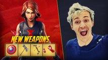 NINJA PLAYS NEW AVENGERS ENDGAME LTM | Fortnite Battle Royale