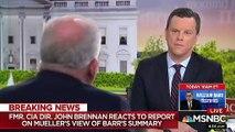 America's Future Rests On Robert Mueller Keeping 'Integrity In A Sea Of Sickness,' John Brennan Says