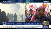 "Philippe Martinez (CGT): ""La police a chargé la CGT"""