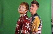 Justin Bieber and Ed Sheeran tease new collaboration?
