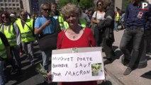 1er-Mai : manifestation rouge et jaune sur la Canebière à Marseille, Mélenchon présent