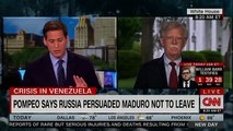 John Bolton Gets Defensive When CNN Host Asks Question About Trump And Russia