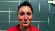 Coupe LAuRA Foot Féminine – Florine CHARRAS réagit après l'élimination du FC PONTCHARRA SAINT-LOUP contre l'AS SAINT-ETIENNE B