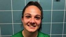 Coupe LAuRA Foot Féminine – Manon GRIMAUD réagit après la qualification de l'AS SAINT-ETIENNE B au FC PONTCHARRA SAINT-LOUP