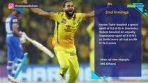 IPL 2019 CSK vs DC Highlights: Raina, Dhoni and Tahir shine as Chennai beat Delhi to go on the top of the points table