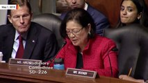 Watch Sen. Mazie Hirono's Blistering Exchange With AG William Barr