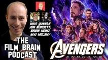 """The Film Brain Podcast (w/ Jonathan Burdett, Brian Heinz, Welshy): """"Avengers - Endgame"""": The End of the Beginning?"""