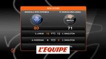Efes Istanbul domine Barcelone et se qualifie pour le Final Four - Basket - Euroligue (H)