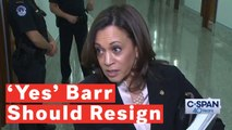 Kamala Harris Says William Barr Should Resign: 'This Attorney General Lacks All Credibility'