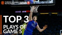 Top 3 Plays  - Turkish Airlines EuroLeague Playoffs Game 5