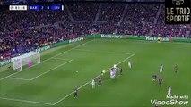Le coup franc de Messi, son 600eme but avec le Barça !