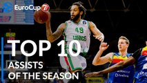 2018-19 7DAYS EuroCup: Top 10 Assists!