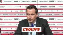 J. Stéphan «Les aventures en Coupe vont nous coûter des places» - Foot - L1 - Rennes