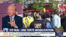 """1er-Mai: """"Le ministre a eu raison de mobiliser des effectifs considérables"""", Brice Hortefeux"""