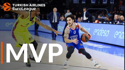 Playoffs Game 5 MVP: Shane Larkin, Anadolu Efes Istanbul