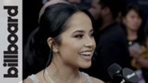 """Becky G Talks New Single """"Next To You"""" & Working with Anitta   BBMAs 2019"""