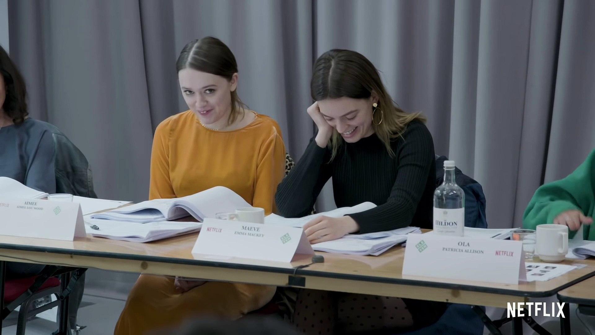 Sex Education Season 2 - The Cast of Sex Education Reacts To Season 2 Scripts