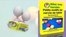 Livre vidéo pour Billar tres bandas: Petits motifs de cercle de table (fr)