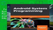BEST SELLING] Android System Programming: Porting