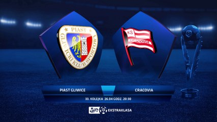 Piast Gliwice 3:1 Cracovia - Matchweek 33: HIGHLIGHTS