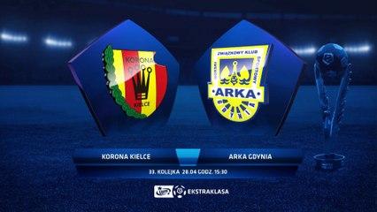 Korona Kielce 0:2 Arka Gdynia - Matchweek 33: HIGHLIGHTS