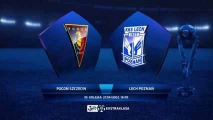 Pogoń Szczecin 1:1 Lech Poznań - Matchweek 33: HIGHLIGHTS