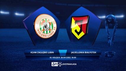 Zagłębie Lubin 2:0 Jagiellonia Białystok - Matchweek 33: HIGHLIGHTS