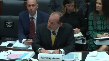 Hearing On Department Of Labor's Priorities Question Secretary's Knowledge Of Birth Control