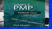 About For Books  Simple PMP PMBOK Quiz: Updated for the PMBOK Guide Sixth Edition  For Kindle