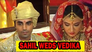 Sahil weds Vedika in Aap Ke Aa Aa Jane Se