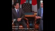 The Prime Minister of Canada refers to Japan as China