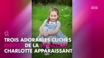 Kate Middleton : Sa fille Charlotte fête ses 4 ans et elle a bien grandi
