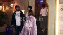 Sonali Bendre on Family Dinner Date Spotted at Bayroute for Dinner