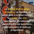Le festival du tatoo de Fréjus, le tableau le plus cher du monde, crevettes d'eau douce: voici votre brief info de ce jeudi après-midi