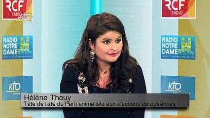 Hélène Thouy  « L'animal est comme une personne »