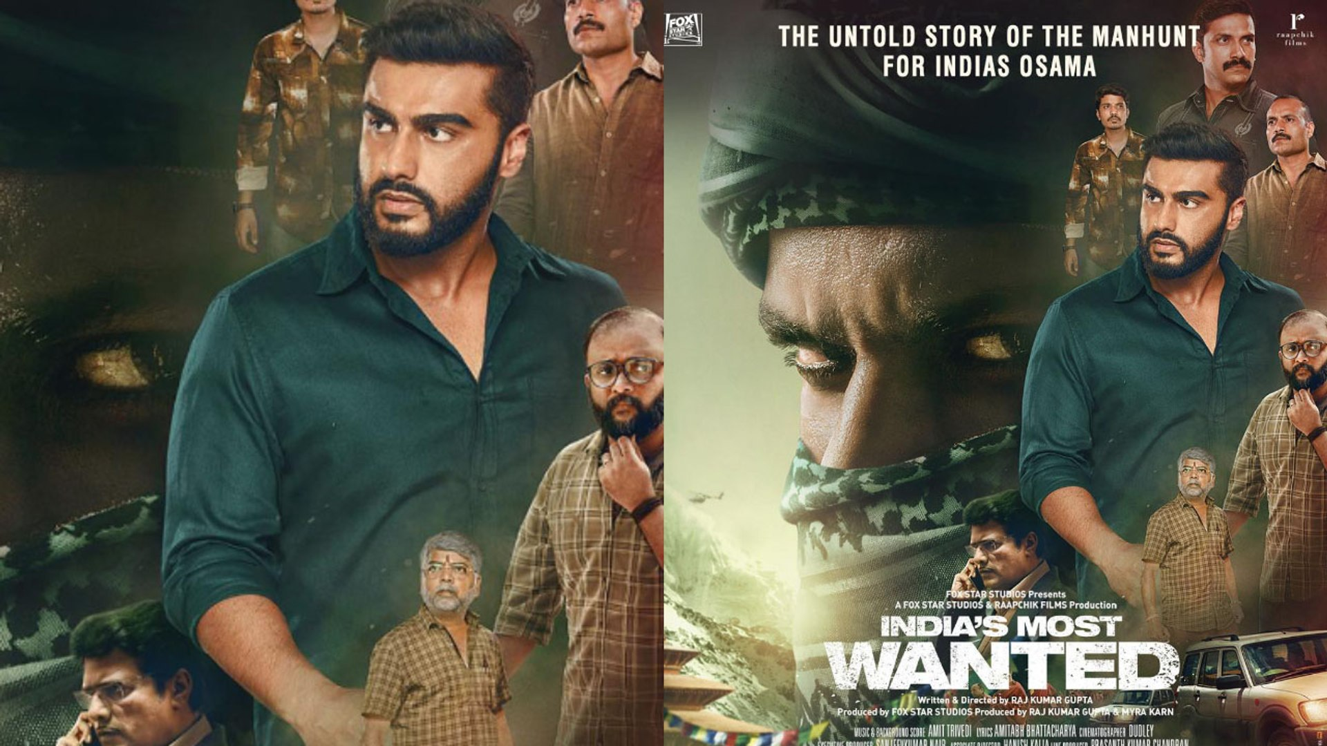Arjun Kapoor gets this reaction on India's Most Wanted trailer ; Check Out | FilmiBeat