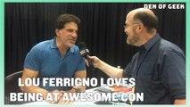 Awesome Con (2019): Lou Ferrigno Interview