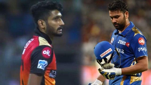 IPL 2019 MI vs SRH:  Rohit Sharma falls after fiery start, Khaleel Ahmed strikes | वनइंडिया हिंदी