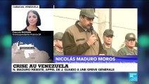 """Dans son discours, Maduro appelle les soldats à la """"loyauté toujours, trahison jamais!"""""""