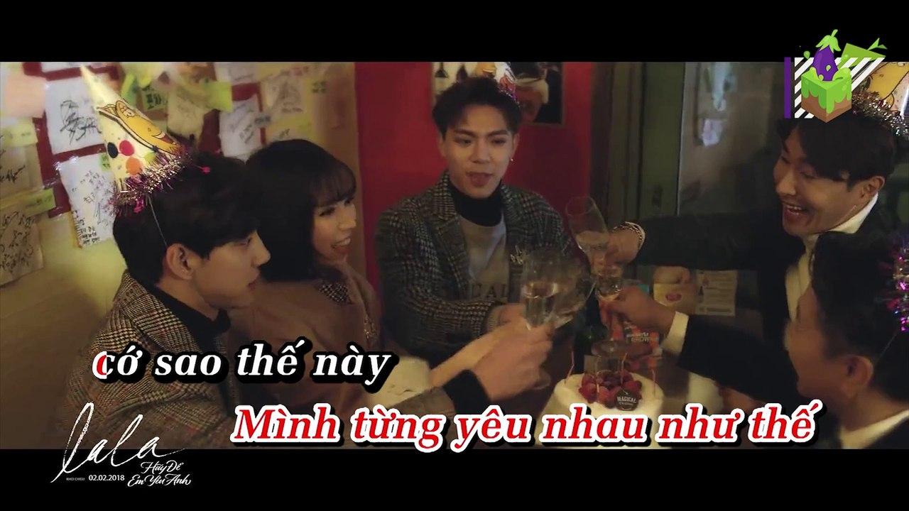 [Karaoke] Đừng Xin Lỗi Nữa (Don't Say Sorry) - ERIK Ft. MIN [Beat]