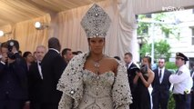 Right Now: Rihanna Met Gala Red Carpet 2018