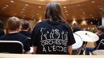 Musique avec la classe orchestre de Diemeringen