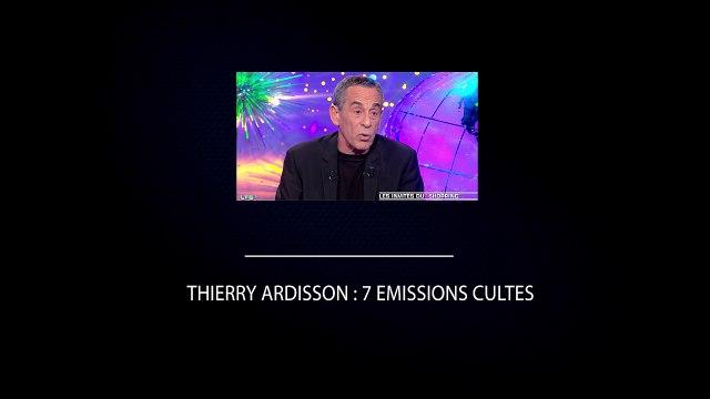 Thierry Ardisson : 7 émissions emblématiques de l'homme en noir